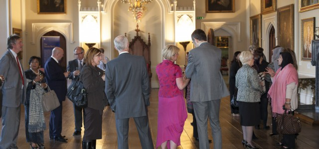 Pre-dinner Networking with North East Businesses, Auckland Castle