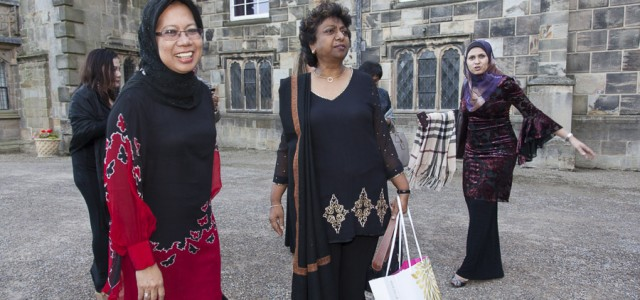 Dato Hafsah Hashim CEO, SMECorp,  and Vimala Sundram, MD, Capital Corporate Communications, Auckland Castle
