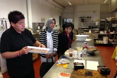 Dato Hafsah Hashim at Kenspeckle Chocolate,Lynemouth