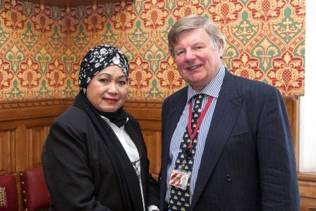 Earl of Erroll with Senator Raja Ropiaah