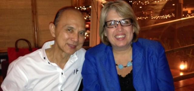 Jimmy Choo and Dinah Bennett Malaysia 2012