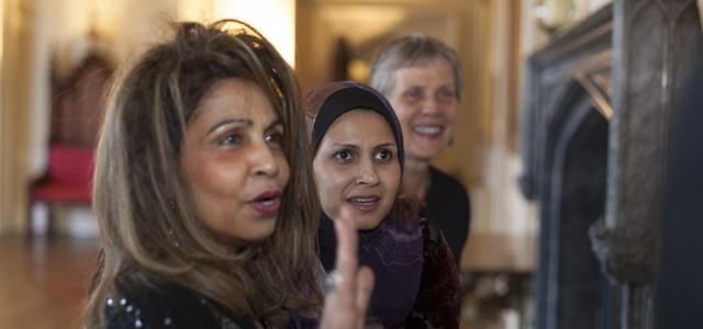 Shamsimar Yusof, Sharifah Najwa Syed Abu Bakar and  Ayesha Harben, Auckland Castle