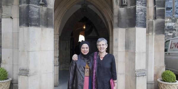 Dato Hazimah Zainuddin and Ayesha Harben Auckland Castle