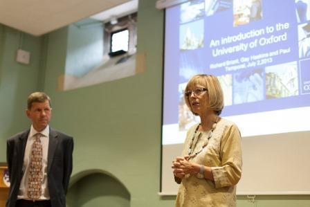 Gay Haskins, Said Business School, Entrepreneurial Leaders Programme,Oxford University