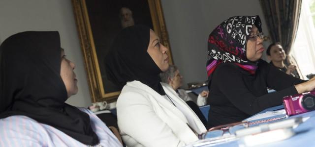 Dato Azlin Ahmad Shaharbi, Dato Hazimah Zainuddin,Dato Hafsah Hashim  St Johns College Durham University
