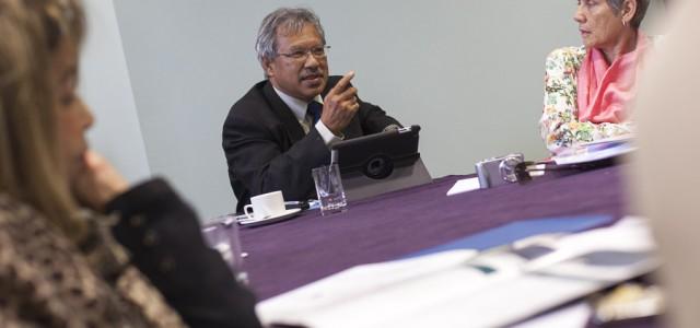 Prof Madya Abdul Aziz bin Abd Latif,Deputy VC, Universiti Malaysia Kelantan and Ayesha Harben,MD, Ayesha Harben & Associates,  St Johns College Durham University