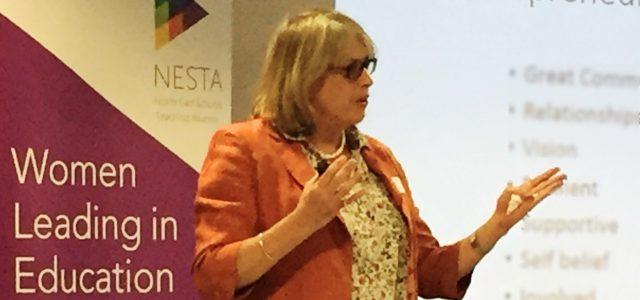Dinah Bennett key note speaker at Women Leading in Education North East Regional Network ICE, International Consultants for Entrepreneurship and Enterprise